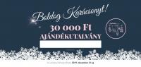 Karácsonyi ajándékutalvány 30.000Ft értékben