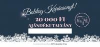 Karácsonyi ajándékutalvány 20.000Ft értékben