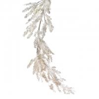 Havas girland műanyag 150cm fehér