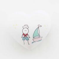 Kis hajóskapitányoknak! 6x6x3,5cm