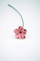 Kerámia virág mályva 30cm 1.