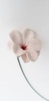 Kerámia virág 30cm fehér 2.