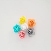 Polifoam rózsa 6db-os 2,5x2cm