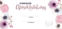 Workshop ajándék utalvány