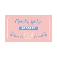 Ajándékutalvány 10.000Ft értékben