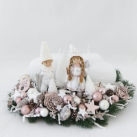 Panna&Peti; adventi koszorú 33cm