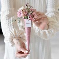 Mezei virágos mályva fémtölcsér, ballagásra