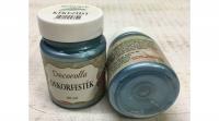 Decorolla selyem-metál dekorfesték 60ml kékezüst