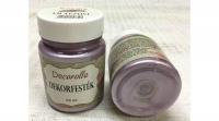 Decorolla selyem-metál dekorfesték 60ml lilaezüst