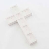Kereszt alakú mécses 23x14 cm
