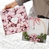 Anyáknapi Virággyűrű díszdobozzal