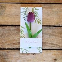 Nőnapi üdvözlőkártya 21x10cm