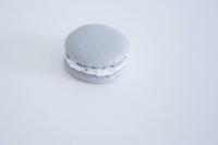 Macaron 4cm szürke v
