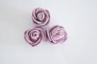 Polifoam rózsa 3db lila