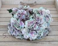 Kék-mályva élethű hortenzia 50 cm