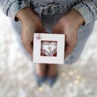 Ajándék doboz- Szeretettel... szívvel
