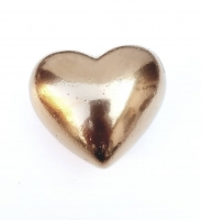 Metál arany dundi szív