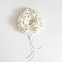 Hortenzia koszorú 25cm fehér