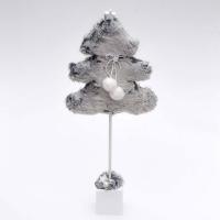 Pihe-puha fenyőfa 75 cm ombre szürke színben